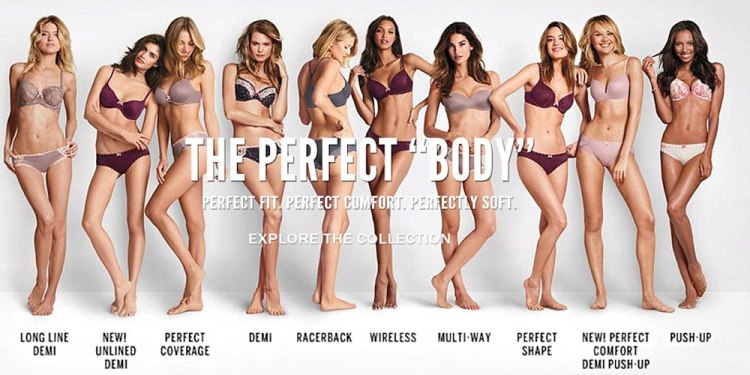 "Victoria's Secret ""The Perfect Body"" image"